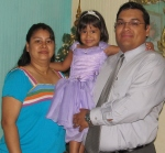The Manzanarez family serving as the Skylark Operations Manager and Assistant.