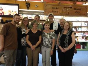 The conferences team. From left: Steve, Daphne, Helen, Wayne, Janice, Bruce, Doug, Detra.